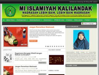 miislamiyahkalilandak.blogspot.com screenshot