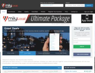 miiylocal.com.au screenshot