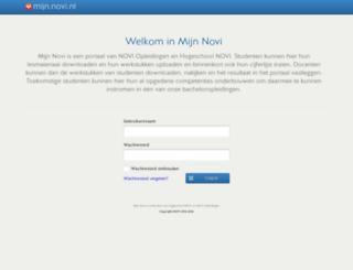 mijn.novi.nl screenshot
