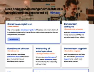 mijngeheimeliefde.nl screenshot