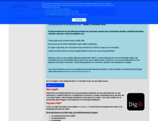 mijngkb.groningen.nl screenshot