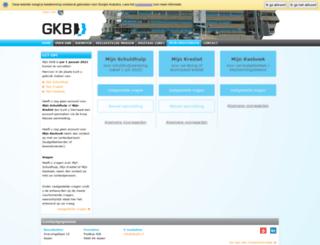 mijngkb.nl screenshot