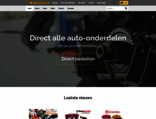 mijngrossier.nl screenshot