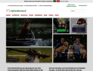 mijnhondenvoer.nl screenshot