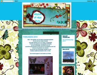 mijnscrapblog.blogspot.com screenshot
