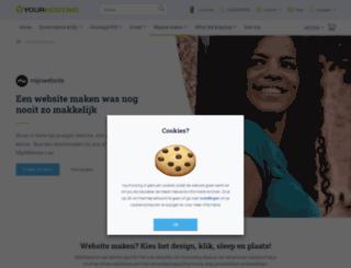 mijnwebsite.nl screenshot