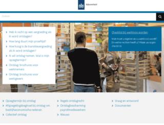 mijnwerkenzekerheid.nl screenshot