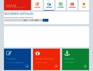 mijnwoordenboek.nl screenshot