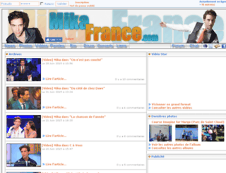 mikafrance.com screenshot