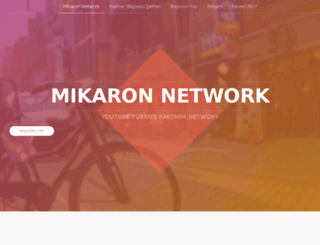 mikaronnetwork.com screenshot
