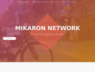 mikaronnetwork.com screenshot