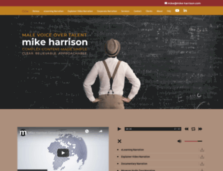 mike-harrison.com screenshot