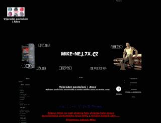 mike-nej.7x.cz screenshot