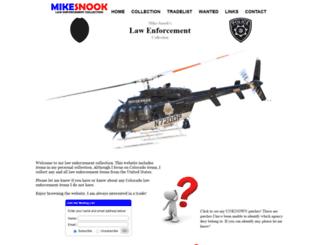 mike-snook.com screenshot