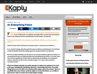 mike.kaply.com screenshot