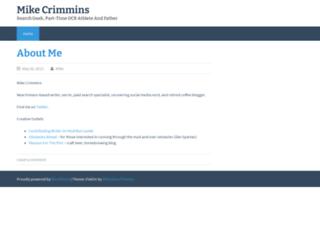 mikecrimmins.com screenshot