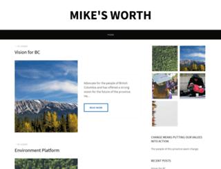 mikefarnworth.ca screenshot