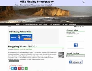 mikefinding.com screenshot