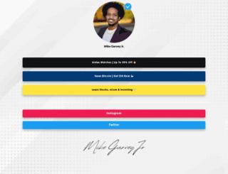 mikegarveyjr.com screenshot