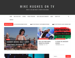 mikehughes.tv screenshot