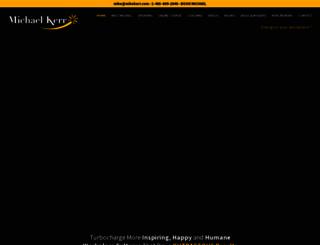 mikekerr.com screenshot