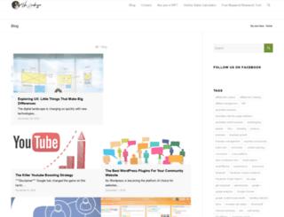 mikeleembruggen.com screenshot