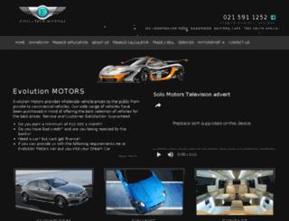 mikenathanautos.co.za screenshot