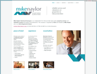 mikenaylorsurveyors.co.uk screenshot