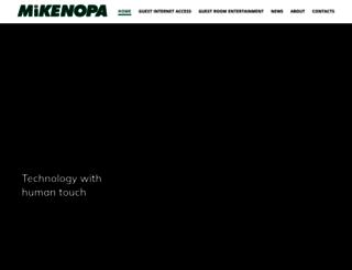 mikenopa.com screenshot