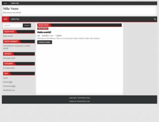 mikenunn.co.nz screenshot