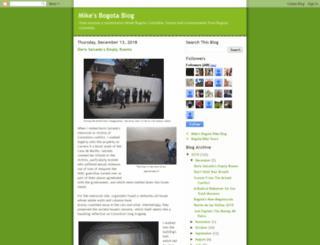 mikesbogotablog.blogspot.co.uk screenshot