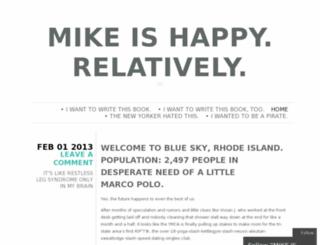 mikesilvia.wordpress.com screenshot