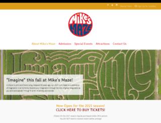 mikesmaze.com screenshot