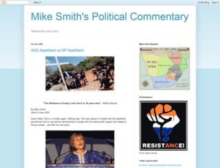 mikesmithspoliticalcommentary.blogspot.de screenshot