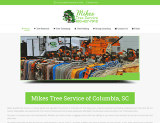 mikesqualitytreeservice.com screenshot