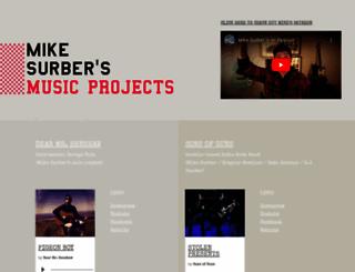 mikesurbermusic.com screenshot