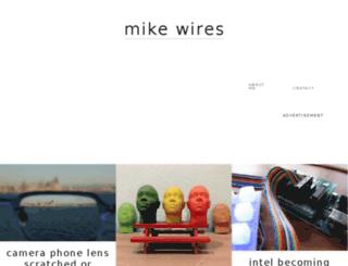 mikewires.com screenshot