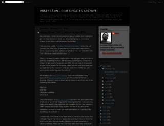 mikeystmnt.com screenshot