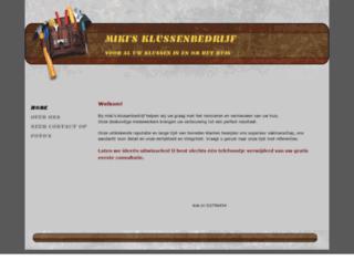 mikisklussenbedrijf.nl screenshot