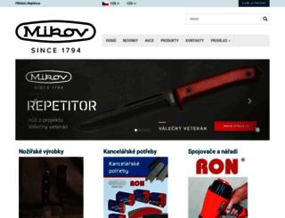mikov.cz screenshot