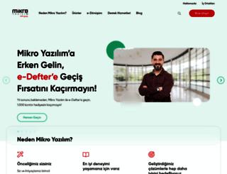 mikro.com.tr screenshot