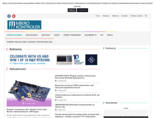 mikrokontroler.pl screenshot