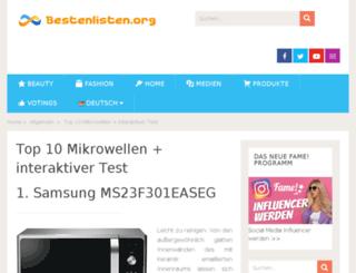 mikrowellentests.de screenshot