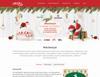 mikulasgyar.hu screenshot