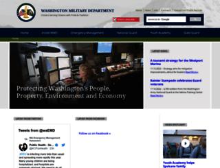 mil.wa.gov screenshot