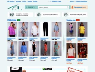 mila-shop.ru screenshot