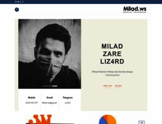 milad.ws screenshot