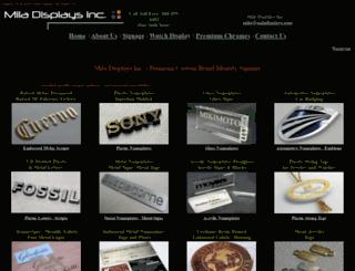 miladisplays.com screenshot