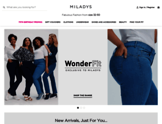 miladys.com screenshot