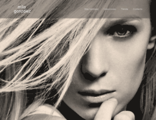 milagonzalez.com screenshot